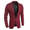 Мужчины Blazer деловой костюм