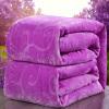Швейцарский текстиль толстых красного коралловое одеяло закона Левин ковер из фиолетового бархата одеяла 150 * 200см все цены