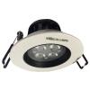 Супермаркет] [Jingdong NVC (The NVC) освещение водить прожектор 4W потолок регулируемый угол (открытие 75мм) 4000K белый свет лампы теплый белый поверхность лампы освещение