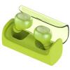 QCY Q29 правда гарнитура беспроводная Bluetooth спортивные беговые бинауральные гарнитуры воздухоразделительную смартфон универсальный Bluetooth 4.2 Зеленый молодежи