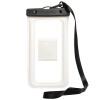 40 000 км мобильный телефон водонепроницаемый мешок дайвинг комплекты сенсорный экран водонепроницаемый может снимать для Apple iphone6plus с талрепом руку отправить водонепроницаемую тестовую бумагу белый 5.5 дюйма SW1049
