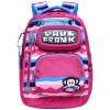 Пол Франк (Пол Франк) Детский школьный портфель мужской моды случайные и простой светло-синий рюкзак школьный PKY2065A пол франк пол франк детский школьный портфель женский вскользь простой розовый рюкзак школьный pky2087b