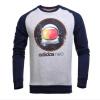 Adidas (Адидас) мужской спорт и отдых NEO AY9933 черного пуловер свитер XL
