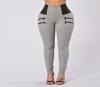 Женщины Плюс Размер завышенной талией Брюки джинсы Брим теплая зима сгущает флисовые штаны талии карандаш брюки Эластичные брюки divim брюки клеш с завышенной талией молния сзади