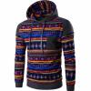 Мужская случайные хлопка пуловер Печатный Толстовка Толстовка
