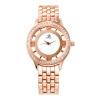2017 г. Мода розовое золото Часы Женские наручные часы сплава ремешок аналоговый дисплей женские часы Повседневная мода кварцевые