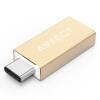 AIFFECT RCA3A-G1 Тип-C к USB3.0 кабель для передачи данных с функцией OTG Apple MacBook / музыкальные часы / Meizu PRO5 соединение U диск золото