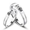 Maltia 925 Серебряное кольцо инкрустацией Цирконий с письмо любовное обручальные кольца женские кольца магия золота женское серебряное кольцо с куб циркониями mg99893z 18