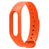 Ваша пища Просо 2 поколения Браслеты Браслеты Аксессуары Замена браслеты ремешок Водонепроницаемый силиконовый спортивный ремешок Smart Браслеты оранжевый браслеты