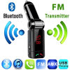 Car FM Transmitter Kit Bluetooth Hands-free Radio Adapter MP3 Player LCD Charger 220130 p3 player bluetooth hands free car bluetooth headset transmitter receivers f