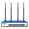 Воланс VE989GW + 1200M корпоративного класса двухдиапазонный беспроводной маршрутизатор через стену сильным WiFi Gigabit Router 10 Интернет управление микро-канал аутентификации 3G / 4G беспроводной маршрутизации VPN totolink a1004 vpn router