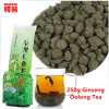 250g Famous Health Care Taiwan Ginseng Oolong Tea, Chinese Ginseng Tea, Slimming tea, Wulong Tea, Free Shipping yunnan dianhong black tea chinese high mountain slimming body health care 250g
