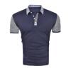 Мужские коротким рукавом рубашки ПОЛО вскользь хлопка футболки для мужчин lucassa футболки мужчин с коротким