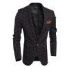 Мода Новые Мужчины площади пиджака
