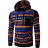 Мужская случайные хлопка пуловер Печатный Толстовка Толстовка пуловер