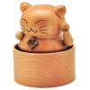 Yunsheng Rhymes творческих подарков игрушка Music Box пальмовой серии чистого твердое дерево ручной Лаки Cat Music Box jenny dooley virginia evans hello happy rhymes nursery rhymes and songs
