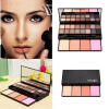 HOT Makeup Blush Palette  Color Blusher with 12 colors Shimmer Eyeshadow Makeup Palette Shadows Professional Makeup Face Blush магнитный браслет colantotte magtitan color palette