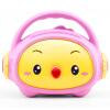 Отличная школа Chick Джиао Джиао  детские игрушки 8G Bluetooth Блокировка от детей популярных брендов рассказывания машина (розовый) шляпа herman арт don chick черный