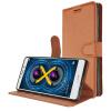 KOOLIFE Play 6X Mobile Shell Cover Holster / Clamshell Holster / Защитный чехол для карты / Мягкий чехол для славы Huawei Play 6x Litchi Print-Brown чехол футляр для рации arva arva radio holster
