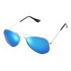 Мода Мальчики Девочки Детские солнцезащитные очки Зеркало Светоотражающие объектива солнцезащитные очки очки