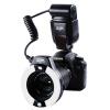 Вей Зуо (VILTROX) JY-670C Canon кольцевой вспышки TTL автоматический замер экспозиции пероральный макросъемки кольцо для Canon камеры