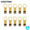 10Packs Metal Key USB Flash Drive Pendrives 16GB 8GB 4GB 2GB 1GB Gold
