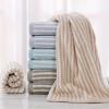 Золотой номер полосатый полотенце текстильный хлопок полотенце полотенце полотенце восемь нагруженный как золотой номер в киселевске
