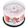 Скорость Дятел DVD + R диски 16 4,7 г огня серии бочки 50 dvd r vs 4 7gb 16х 10шт cake box