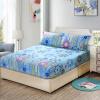 Ivy домашний текстиль матрас наборы для матраса Simmons защитный чехол хлопчатобумажная кровать однослойная хлопчатобумажная кровать покрытие для льда нескользящая 1,8 м кровать (Vientiane update blue 180 * 200 см) кровать