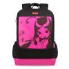 Конфуция школьный пакет 2 класса - ученики начальной школы младших школьников для увеличения раскладушка K504 розовый мешок для детей