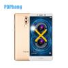 Huawei честь 6X 3GB 32GB ROM RAM 5,5-дюймовый Android 6.0 Мобильный телефон Hisilicon Kirin 655 окта Core 2 Задняя камера Dual SIM oem 100% lcd huawei u8800 ideos x 5 for huawei u8800 ideos x5