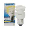 [Jingdong супермаркет] Philips (Филипс) спиральные энергосберегающие лампы E27 5W Большой винт [li] на jingdong супермаркет litil 5w светодиодные лампы e27 большой энергосберегающие лампы 10 винт установлен warmwhite