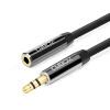 Ferguson (cabos) F00805 удлинительный кабель для наушников 3,5 мм удлинитель для аудиосистемы удлинитель для минигарнитуры для наушников 5 метров металлический черный