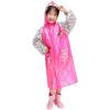 Jingdong [супермаркет] ребенок модель рай зонтик плащ пончо пончо милый мультфильм сумка скрытые студенты форма G006K дождевик дети пончо зеленый M