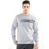 Playboy (Плейбой) HM6511005 мужской мода случайного круглой шеи пуловер свитер спортивного цветок серый XXXL