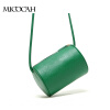 Free Shipping Barrel-Shaped Fashion Women Messenger Bags High Quality Solid Color PU Leather Mini New Brand Women Bag free shipping new fashion brand women s single shoulder bag lady messenger bag litchi pattern solid color 100