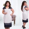 Фото новая мода горячей продажи женщин просто случайные o-neck половина регулярных рукав природных план платье длиной до колен тарифный план