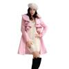 CT & F зимнее пальто женщин шерсти Подогреть Trench Outwear Женщины длинные пальто пальто katerina bleska