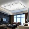TCL LED потолок Снежный Гибискус 72W белого свет Железного Living кабинета офис ресторана освещение спальни лампой 910 * 680мм площади мебель для ресторана