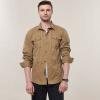 Модная повседневная мужская рубашка с длинным рукавом с длинными рукавами Летняя мужская одежда