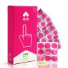 Лулу (Lulu) Латексный презерватив для палцев мужчин и женщин Сексуальный товар 12 шт. california exotic intimate ring ribbed кольцо на пенис