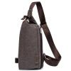GSQ Гу Siqi человек мешок водонепроницаемого хлопок мода личность грудь пакет кармана большой емкость сумка 916 голубых