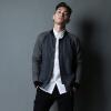 YOSE Мужская мужская длинная рукава Мужская одежда Мужская мода Свитера Корейская мужская куртка Мужская куртка Monk Collar Jacket Deep Grey Grey L 175