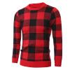 Мужчины Повседневная Кружева пуловер свитер