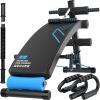 То же семейство фитнес-оборудования спинной пластинки приседания живота на спине пластина многофункциональный фитнес-план живота Y001