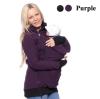 Г-жа пальто осень и зима 2016 несущей младенца с капюшоном случайные молнии куртки ребенка пальто толстый беременных женщин большо пальто katerina bleska
