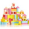 Cup немецкого классический мира 100 может быть импортированы из бука Li игрушечных строительных блоки 1-6 лет детских садов Просвещения головоломки деревянный подарок 6530 подарок девочке на 6 лет