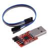 USB для 6PIN модуля TTL UART последовательный преобразователь CP2102 STC PRGMR Free кабель cp2102 stc download usb to ttl module w dupont cables red silver