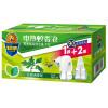 AMD электрический комаров жидкость аромат растений (полыни Fen) жидкость репеллента 40 мл / бутылка * Нагреватель комплект 2 инлайн + е жидкость 60 40 2 30 мл 0 мг