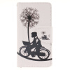 Велосипед и одуванчика Дизайн Кожа PU откидная крышка бумажника карты держатель чехол для SAMSUNG GALAXY J5 2016/J510 luxurious tail анальная пробка серебристая средняя с розовой розой